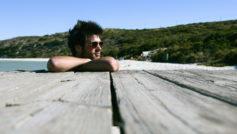 лето, парень, доски, отдых, Мужчина, пляж