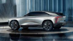 Серебристый автомобиль DS Aero Sport Lounge 2020 года вид сбоку