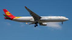 Пассажирский самолет A330-300 авиакомпании Capital Airlines