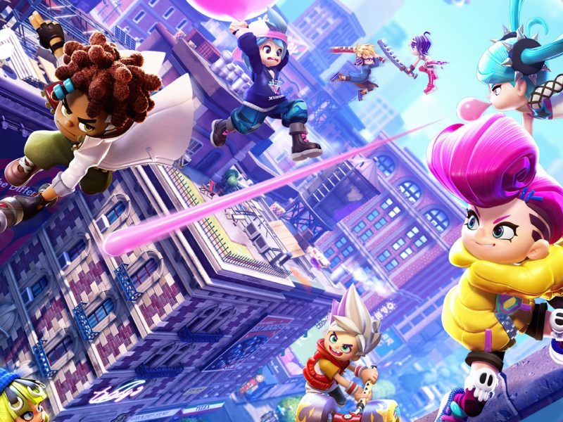 Скриншот компьютерной игры Ninjala, 2020