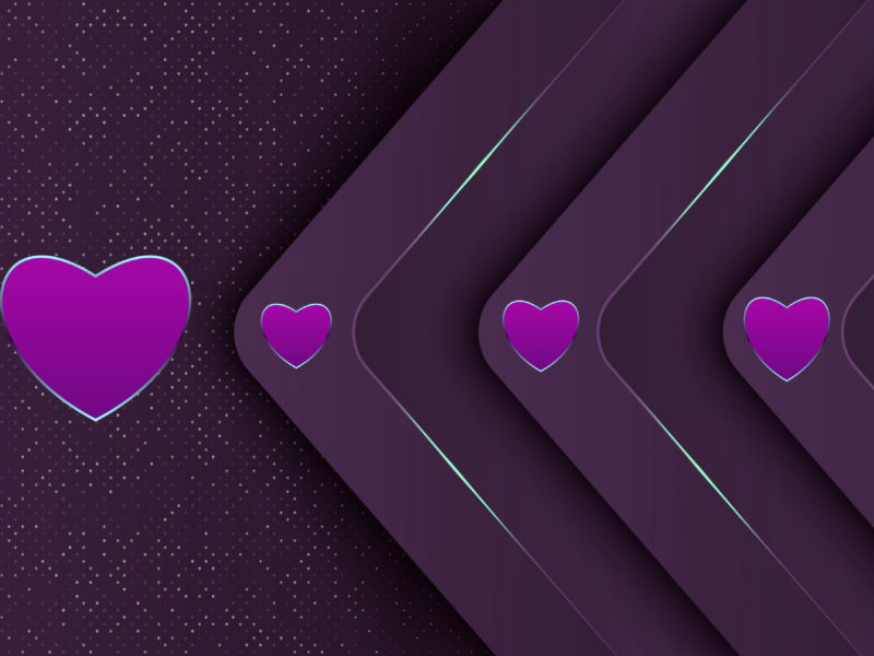 Обои сердечки, фон, чувства на рабочий стол.