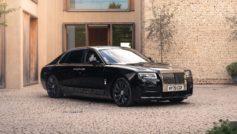 Обои Rolls-Royce, Ghost, EWB, 2020 на рабочий стол.