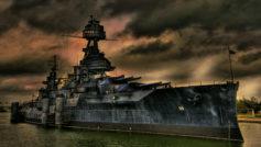 Обои корабль-музей, линкор, Техас на рабочий стол.