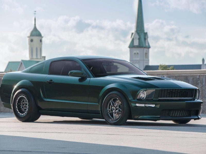 Обои Ford, Mustang, Gt500 на рабочий стол.