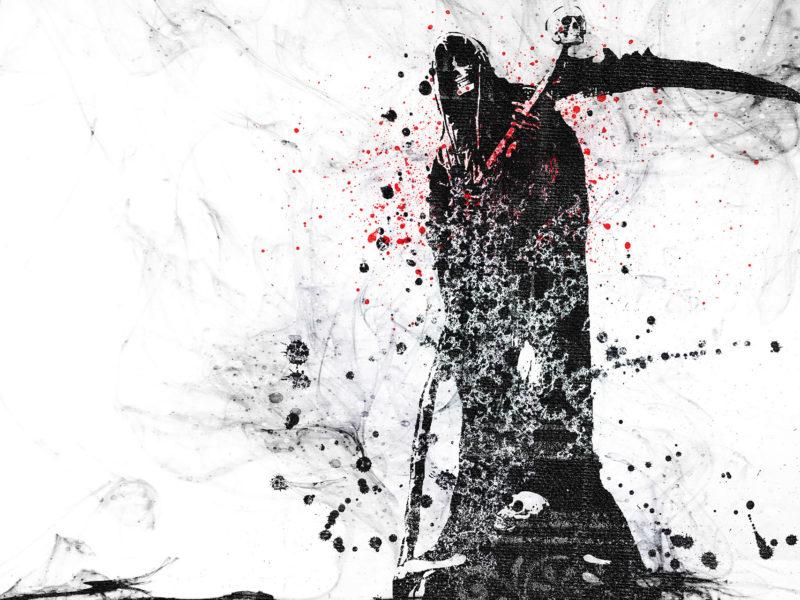 grunge, skull, Смерть, vector, гранж, вектор, hd, череп, death, wallpaper