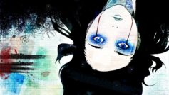 Ergo proxy, blood, blue eyes
