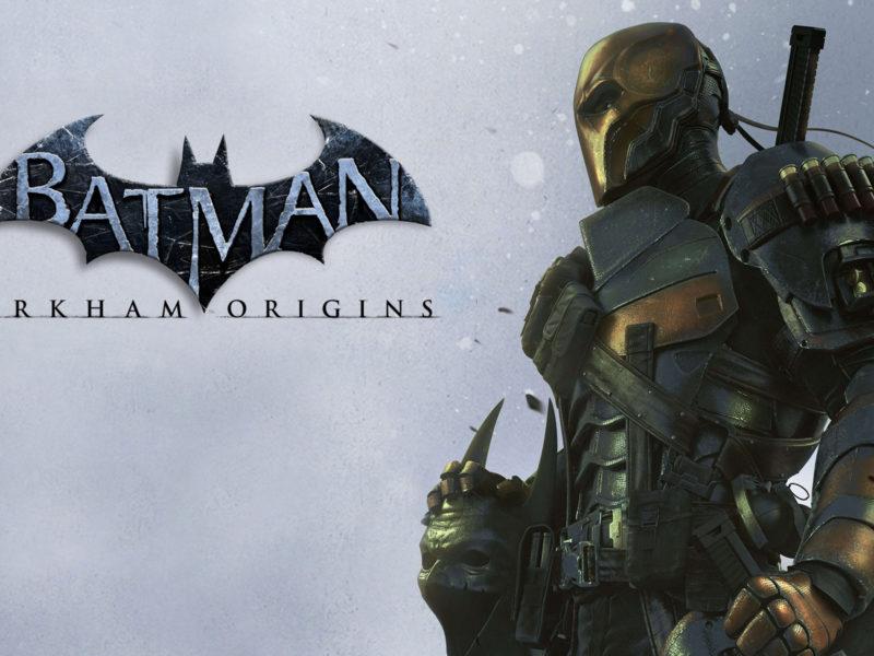 дезстроук, batman летопись аркхема, deathstroke, Batman arkham origins
