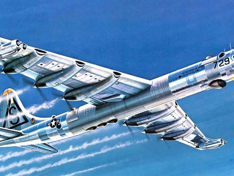 _миротворец_, конвэр б-36, _peacemaker_, Арт, convair b-36