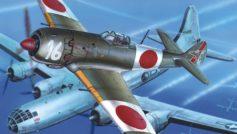 tachikawa ki-106, самолёты, японский, небо, Арт, истребитель