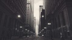 америка, здания, сша, город, Чикаго, небоскребы, улица