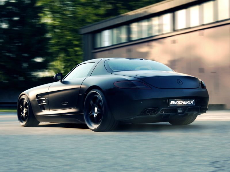 kicherer, tuning, mercedes benz, supercharged gt, Car, mate, black, 2012, sls, wallpapers