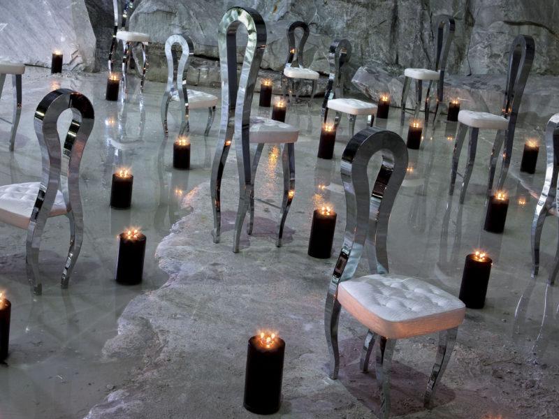 хром, Интерьер, vgnewtrend, стул, свеча