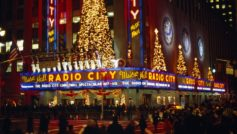 Музыка, Радио, Зал, Рождество, Города