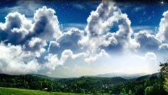 Облака, Пейзажи, Природа, Фэнтази