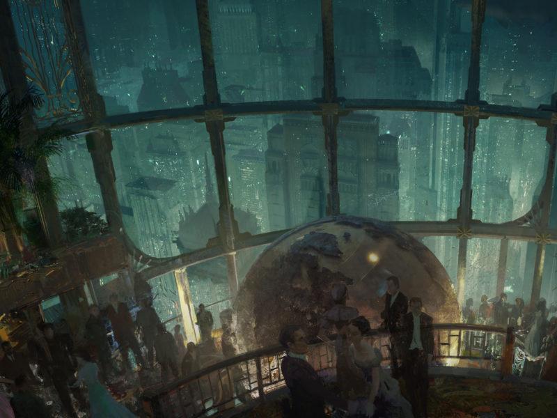 Видеоигры, Города, Архитектура, Восторг, Здания, Партия, BioShock 2