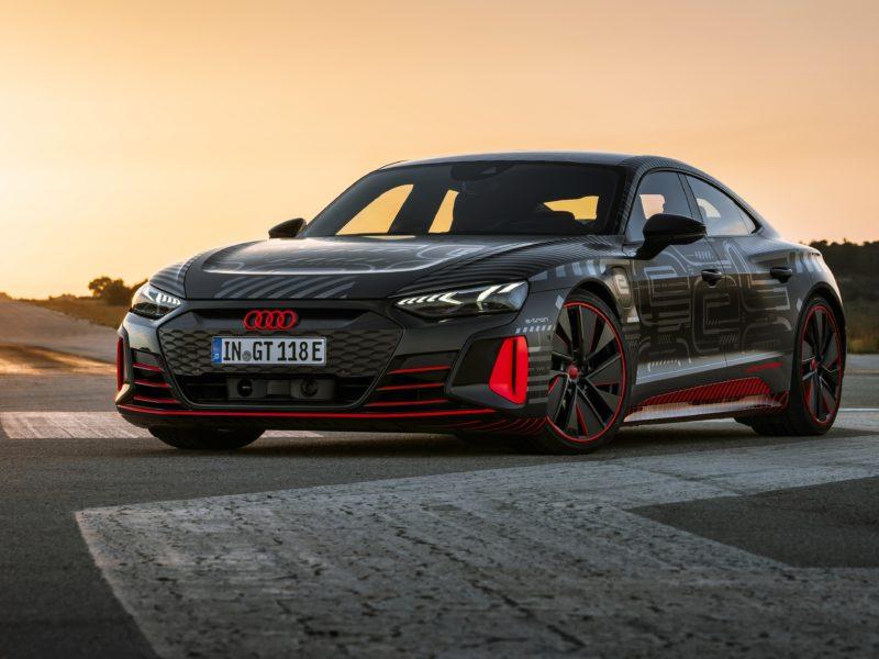 Обои Audi, RS, e-tron, GT, Prototype, 2021 на рабочий стол.