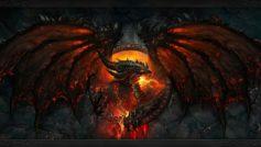 Обои фэнтези, дракон, монстр на рабочий стол.