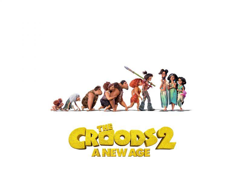 Постер нового мультфильма Семейка Крудс 2, 2020