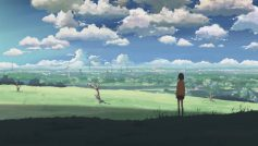 Облака, Пейзажи, Макото Синкай, 5 сантиметров в секунду, Аниме