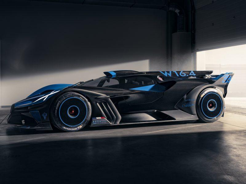 Обои 2021, Bugatti, Bolide на рабочий стол.