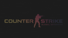 Постер игры Counter-Strike: Global Offensive на сером фоне
